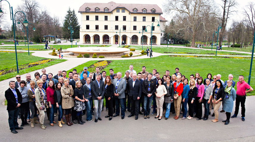 N1 journalists assemble in Sarajevo for a training seminar held by the Thomson Foundation in March 2013