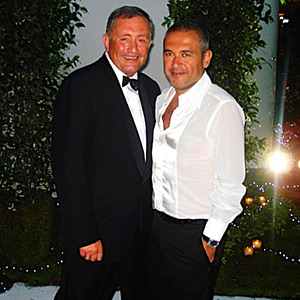 A close-up report into the star-studded world of fashion designer Elie Saab and a glimpse of Brent Sadler on a catwalk!
