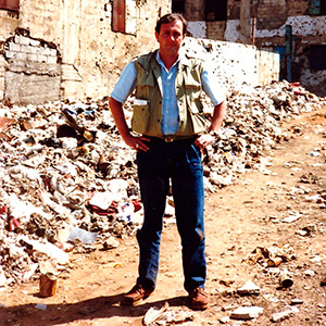 Exclusive award-winning Sadler report from inside a Palestinian refugee camp in Beirut under siege in 1987