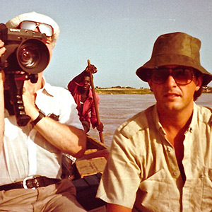 An exclusive front-line report from Chad, Central Africa in 1983 after a hazardous desert journey